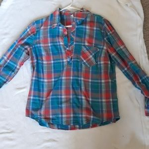 Faded Glory plaid shirt